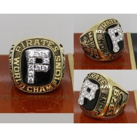 1979 Baseball Championship Rings Pittsburgh Pirates World Series Ring