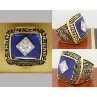 1981 Baseball Championship Rings Los Angeles Dodgers World Series Ring