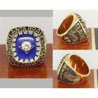 1995 Baseball Championship Rings Atlanta Braves World Series Ring