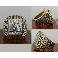 2001 Baseball Championship Rings Arizona Diamondbacks World Series Ring