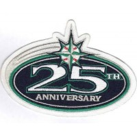 2001 Seattle Mariners 25th Anniversary Patch