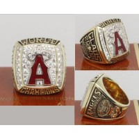 2002 Baseball Championship Rings Anaheim Angels World Series Ring