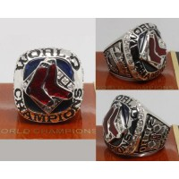 2007 Baseball Championship Rings Boston Red Sox World Series Ring