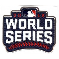 2016 World Series EmbossTech Patch