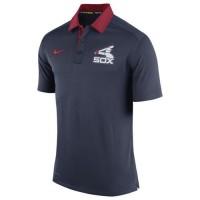 Men's Chicago White Sox Nike Navy Authentic Collection Dri-FIT Elite Polo