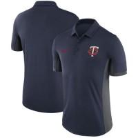 Men's Minnesota Twins Nike Navy Franchise Polo