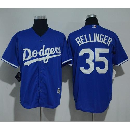 62deed7a6 Los Angeles Dodgers  35 Cody Bellinger Blue New Cool Base Stitched MLB  Jersey