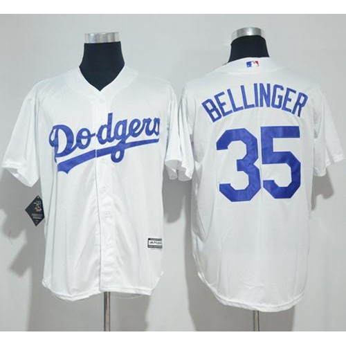 7a9de6a37 Los Angeles Dodgers  35 Cody Bellinger White New Cool Base Stitched MLB  Jersey