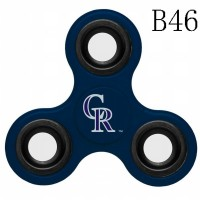 Colorado Rockies 3-Way Fidget Spinner-B46