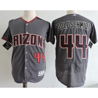 Arizona Diamondbacks #44 Paul Goldschmidt Gray Flexbase Authentic Collection Stitched MLB Jersey