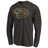 Arizona Diamondbacks Gold Collection Long Sleeve Tri-Blend T-Shirt Black