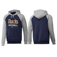 Arizona Diamondbacks Pullover Hoodie Dark Blue & Grey