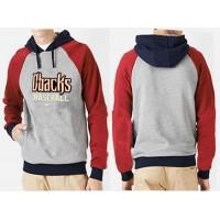 Arizona Diamondbacks Pullover Hoodie Grey & Red