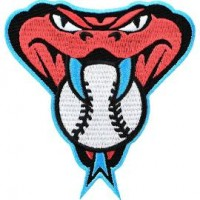 Arizona Diamondbacks Snake Head Patch (Blue Border)