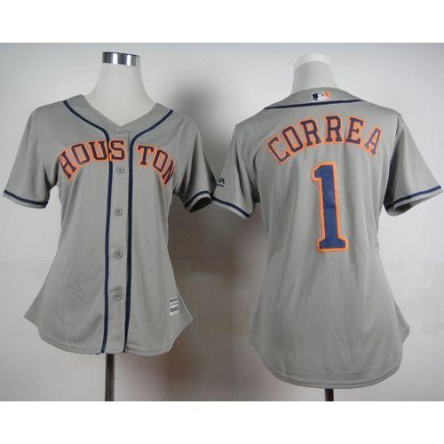 save off 39dfe 6c93b uk astros 1 carlos correa grey cool base stitched mlb jersey ...