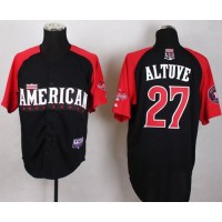 Astros #27 Jose Altuve Black 2015 All-Star American League Stitched Baseball Jersey