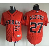 Astros #27 Jose Altuve Orange Flexbase Authentic Collection Stitched Baseball Jersey