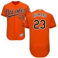 Baltimore Orioles #23 Joey Rickard Orange Flexbase Authentic Collection Stitched MLB Jersey