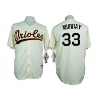 Baltimore Orioles #33 Eddie Murray Cream 1954 Turn Back The Clock Throwback Stitched Baseball Jersey