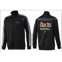 Baseball Arizona Diamondbacks Zip Jacket Black_2