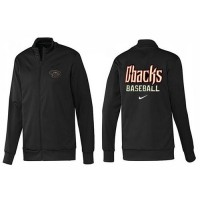 Baseball Arizona Diamondbacks Zip Jacket Black_3