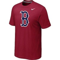Baseball Boston Red Sox Heathered Nike Blended T-Shirt Red