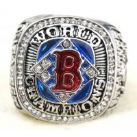 Baseball Boston Red Sox World Champions Silver Ring_2