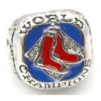 Baseball Boston Red Sox World Champions Silver Ring_3