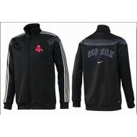 Baseball Boston Red Sox Zip Jacket Black_1