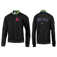 Baseball Boston Red Sox Zip Jacket Black_2