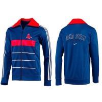 Baseball Boston Red Sox Zip Jacket Blue_3