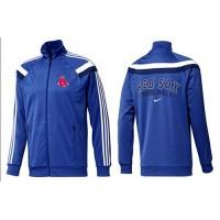 Baseball Boston Red Sox Zip Jacket Blue_5
