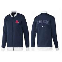 Baseball Boston Red Sox Zip Jacket Dark Blue