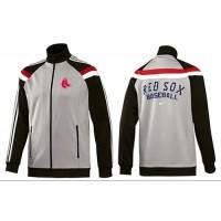 Baseball Boston Red Sox Zip Jacket Grey