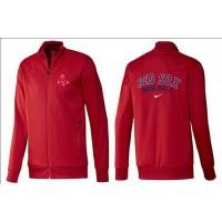 Baseball Boston Red Sox Zip Jacket Red