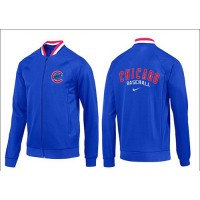 Baseball Chicago Cubs Zip Jacket Blue_1