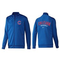 Baseball Chicago Cubs Zip Jacket Blue_2