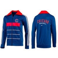 Baseball Chicago Cubs Zip Jacket Blue_3