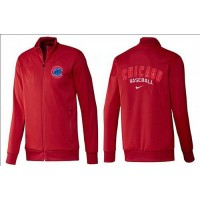 Baseball Chicago Cubs Zip Jacket Red
