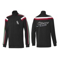 Baseball Chicago White Sox Zip Jacket Black_1