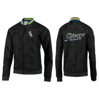 Baseball Chicago White Sox Zip Jacket Black_2
