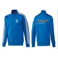 Baseball Chicago White Sox Zip Jacket Blue_1