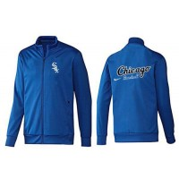 Baseball Chicago White Sox Zip Jacket Blue_3
