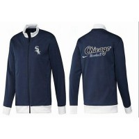 Baseball Chicago White Sox Zip Jacket Dark Blue_1