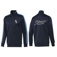 Baseball Chicago White Sox Zip Jacket Dark Blue_2