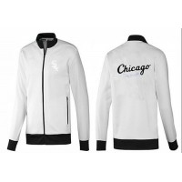 Baseball Chicago White Sox Zip Jacket White_3
