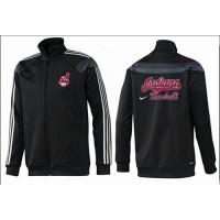 Baseball Cleveland Indians Zip Jacket Black_2