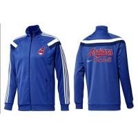 Baseball Cleveland Indians Zip Jacket Blue_1