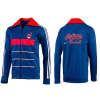 Baseball Cleveland Indians Zip Jacket Blue_2