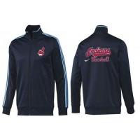 Baseball Cleveland Indians Zip Jacket Dark Blue